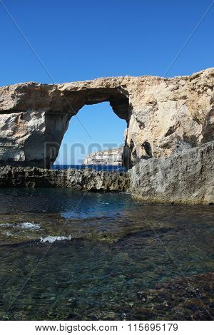 Famous Gozo Arch