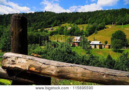 A Village In The Carpathians