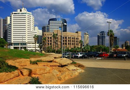 View Of The Tel Aviv