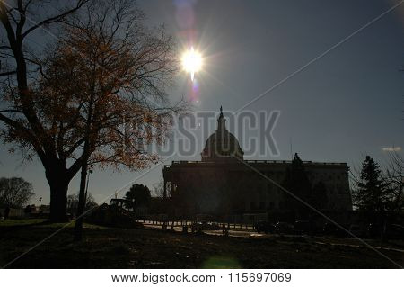 Sun Over The Capitol