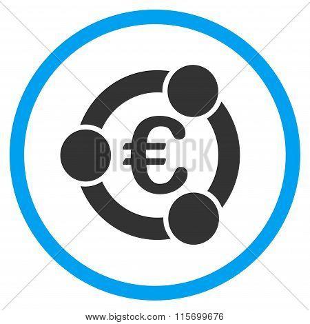 Euro Collaboration Circled Icon