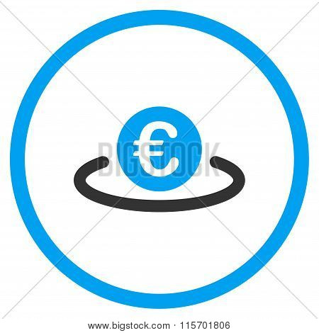 Euro Deposit Circled Icon