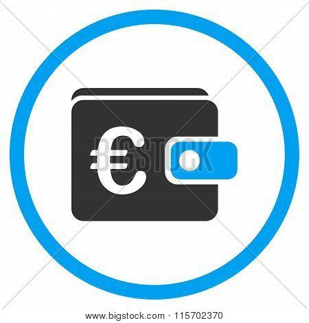 Euro Purse Circled Icon