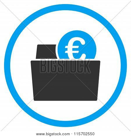 Euro Wallet Rounded Icon