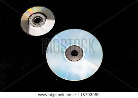 Two of the DVD or CD,