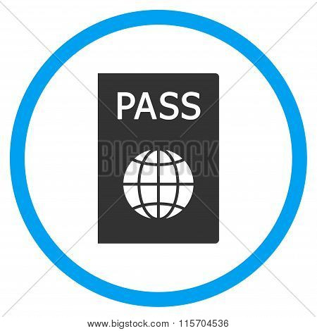 Passport Circled Icon