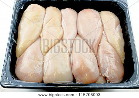 Raw Chicken Breast..