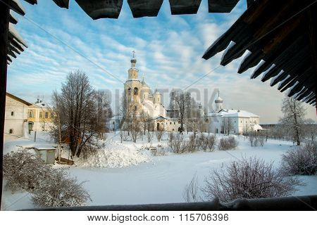 Spaso Prilutskiy monastery in Vologda