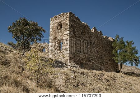 Remains Near Historical Harput Castle In Elazig, Turkey