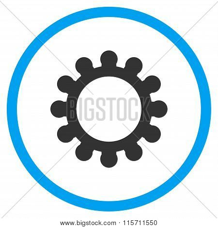Gear Rounded Icon