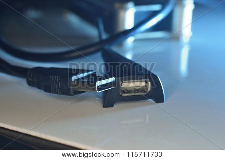 Male And Female  Usb Connectors