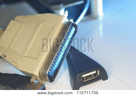 Old Lpt And New Usb Ports