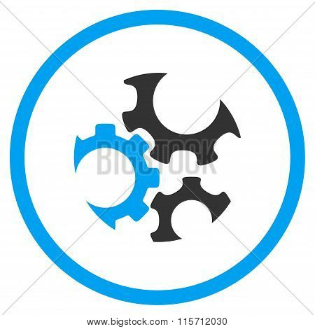 Mechanics Rounded Icon