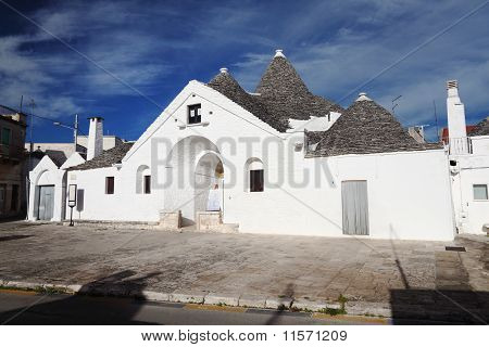View Of Trullo Sovrano
