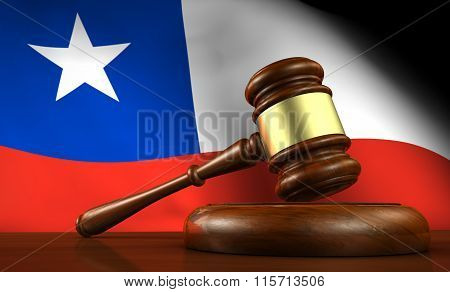 Chile Law Legal System Concept
