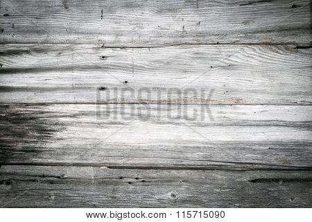 Grey Old Wood Background