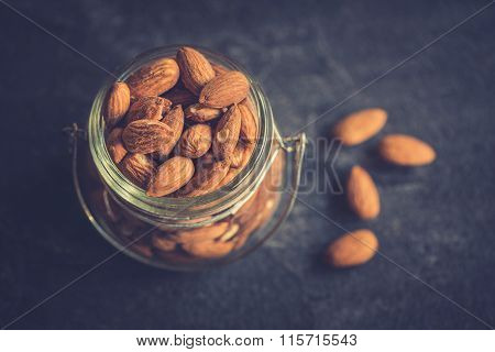 Almonds In The Jar