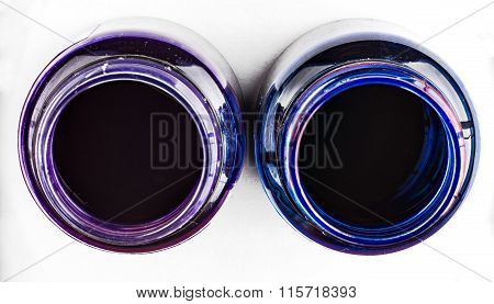 Two Ink Bottles