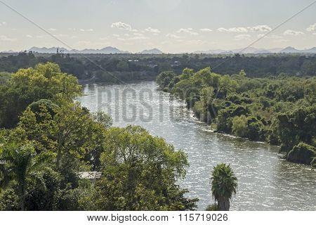 El Fuerte River In Mexico