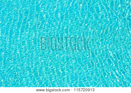 Cyan Water Abstract Background
