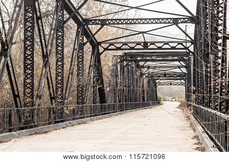 Sweetwater River Truss Bridge in San Diego, California