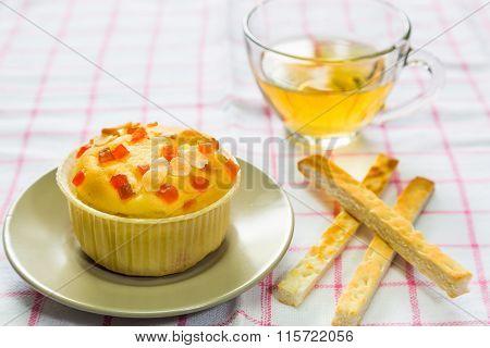 Fruit Filling Cupcake