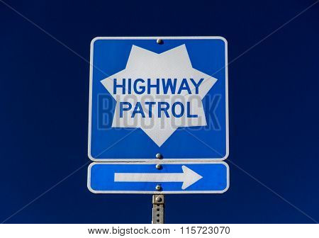 Highway Patrol Sign