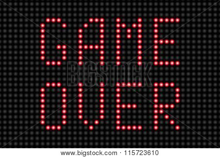 Game Over Message