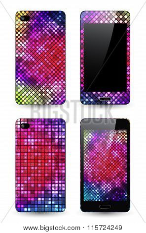 Mobile Phone Cover With Mosaic