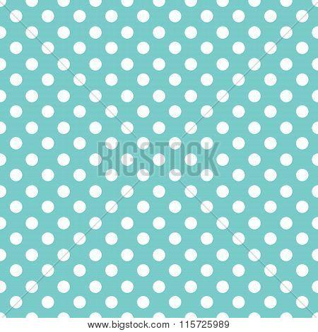 Polka dots seamless pattern background. Pin-up pattern background.