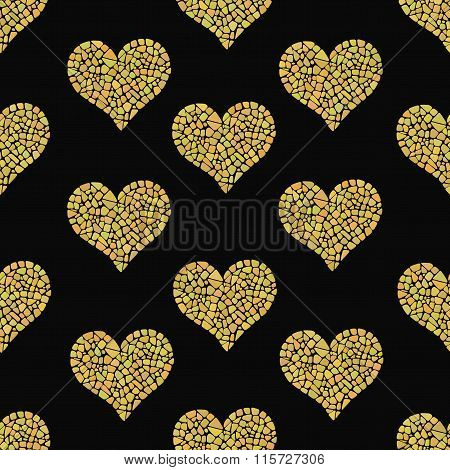 Mosaic Heart Pattern