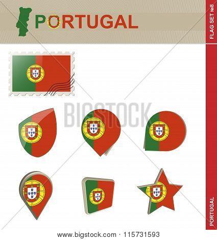 Portugal Flag Set, Flag Set #8