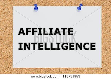 Affiliate Intelligence Concept
