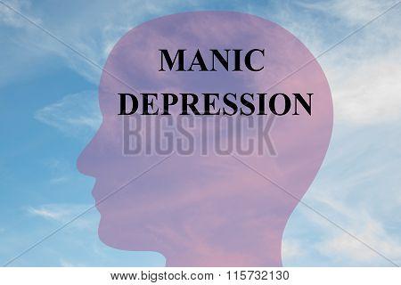 Manic Depression Concept