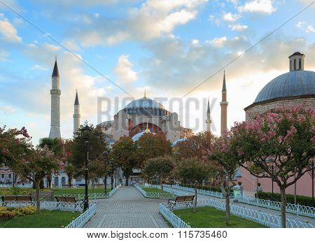 Hagia Sophia, Christian Patriarchal Basilica, Imperial Mosque, Istanbul, Turkey