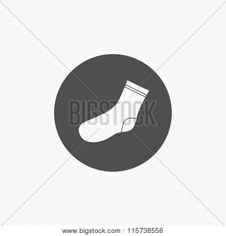 Socks icon vector