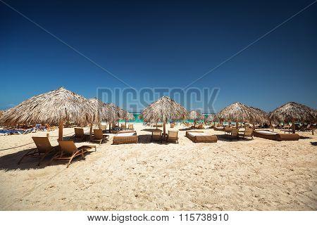 Carribean Vacation, Beautiful Tropical Beach