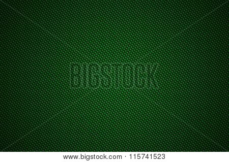 Green Carbon Fiber With Black Gradient Color, Background And Texture.