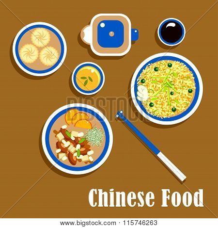 Chinese cuisine food, snacks and beverage