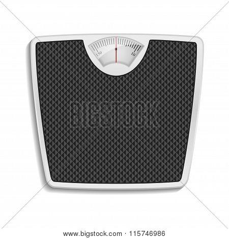 bathroom scale, eps10