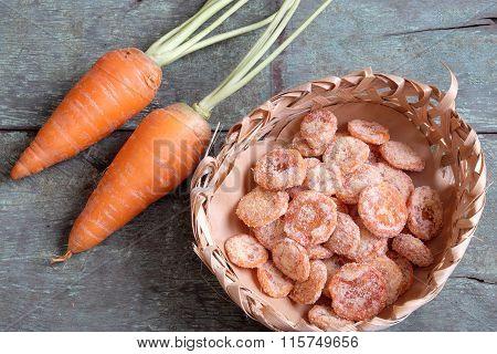 Vietnamese Food, Sweet, Vietnam Tet, Carrot Jam
