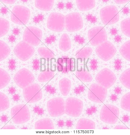 Seamless ornaments pink violet white