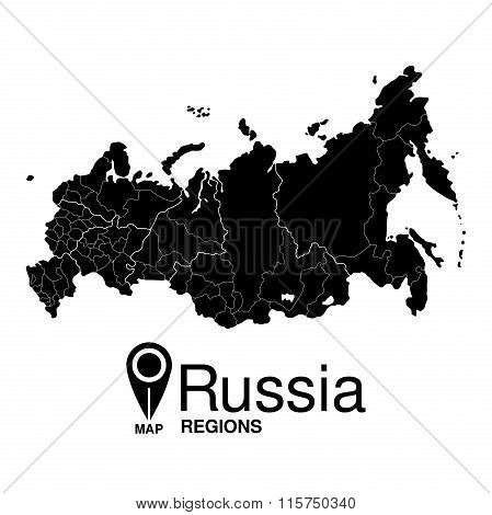 Detailed Map Of Russia