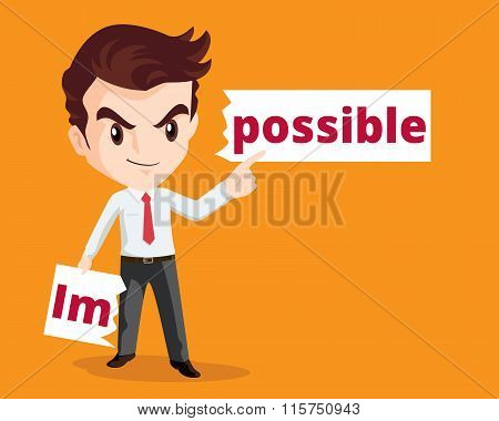 Businessman Make Possible