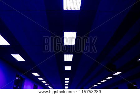 Ceiling In The Gym