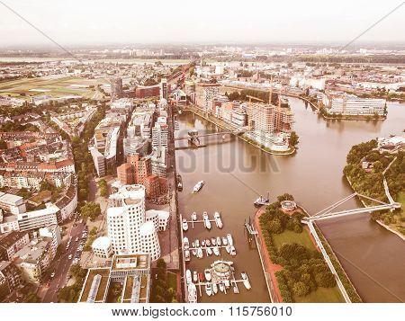 Duesseldorf Mediahafen Harbour Vintage