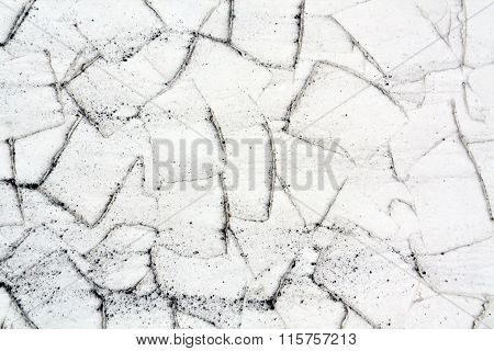 Gray And White Plaster Wall Texture.