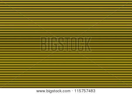 Yellow garage door
