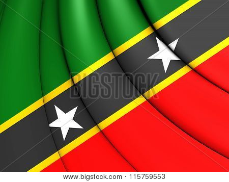 Federation Of Saint Kitts And Nevis Flag