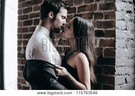 Stealing A Kiss.